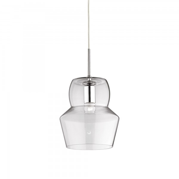Ideal Lux 088921 Zeno SP1 Large Blown Clear Glass Diffuser