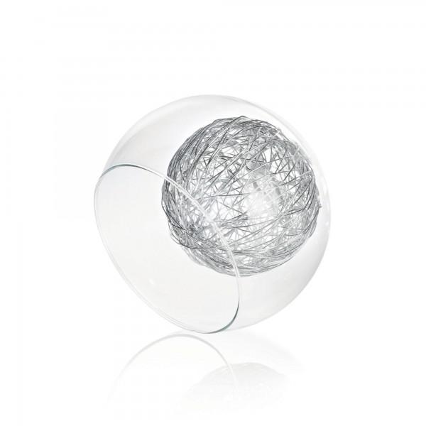 Ideal Lux 060231 Cin Cin 7 Light Blown Glass Diffusers With Aluminum Floss Decoration