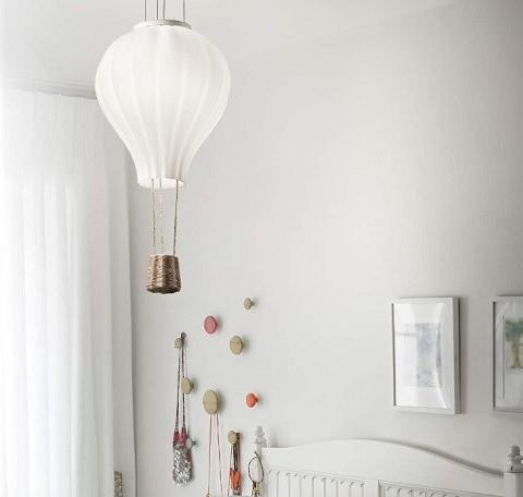 Ideal lux 261195 Dream Big Hot Air Balloon Pendant