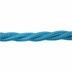 Love4Lighting CABTRE31068 1m Length of Sky Blue Braided Cable
