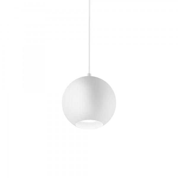 Ideal Lux 140988 Mr Jack SP1 Big Globe Pendant in White Metal