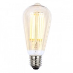 Forum Lighting Solutions INL-ST64-LED-ES-TNT INLIGHT Vintage 6W Warm White Dimmable E27 Tinted LED Squirr...