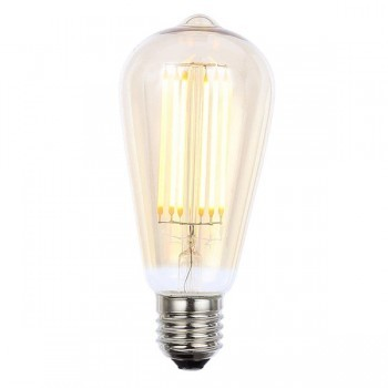 Forum Lighting Solutions INL-ST64-LED-ES-TNT INLIGHT Vintage 6W Warm White Dimmable E27 Tinted LED Squirrel Cage Bulb