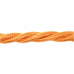 Love4Lighting CABTRE31042 1m Length of Orange Braided Cable