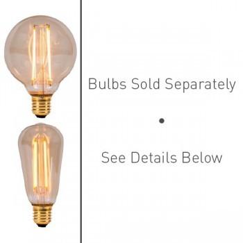 S. Lilley & Son 80mm Single Light Polished Brass Pendant Kit
