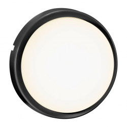 Nordlux 2019161003 Cuba Energy Round Outdoor Wall Light in Black