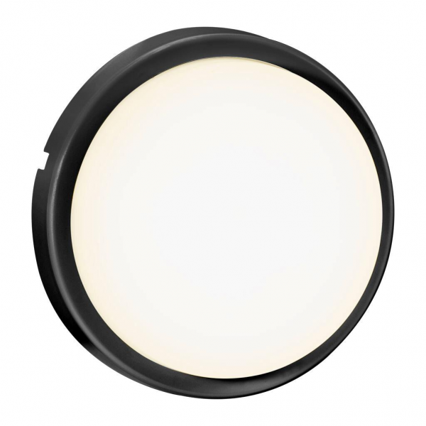 Nordlux 2019171003 Cuba Bright Round Outdoor Wall Light in Black