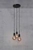 Nordlux 2112063003 Paco 3 Light Pendant E27 in Black