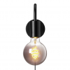Nordlux 2112071003 Paco E27 Wall Light in Black