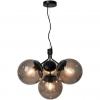 Nordlux 2112153003 Ivona E27 4-Light Pendant in Black
