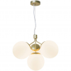 Nordlux 2112153035 Ivona E27 4-Light Pendant Light in Brass