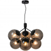Nordlux 2112163003 Ivona E27 6-Light Pendant in Black