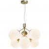 Nordlux 2112163035 Ivona E27 6-Light Pendant in Brass