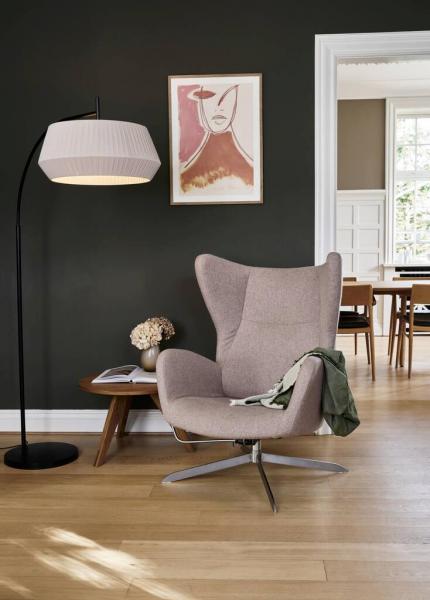 Nordlux 2112414009 Dicte E27 Floor Lamp in Beige