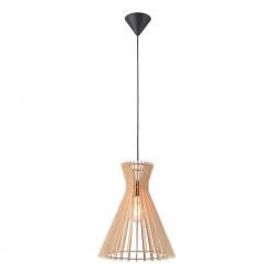 Nordlux 2112453014 Groa 34 E27 Pendant Light in Wood