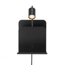 Nordlux 2112551003 Roomi Indoor GU10 Wall Light in Black