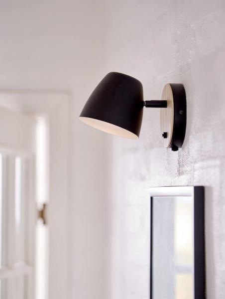 Nordlux 2112631003 Theo GU10 Wall Light in Black