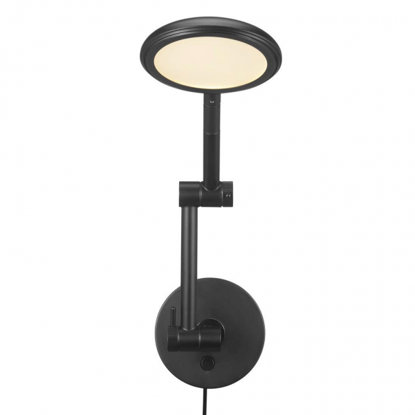 Nordlux 2112751003 Bend LED Wall Light in Black