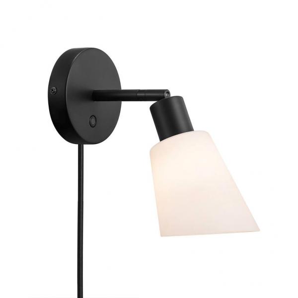 Nordlux 2112811003 Molli E14 Wall Light in Black