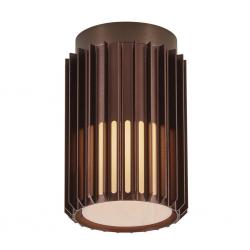 Nordlux 2118006061 Matrix E27 Ceiling Light in Dark Brass