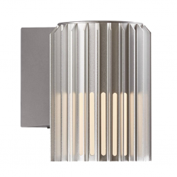 Nordlux 2118011010 Matrix E27 Wall Light in Aluminium