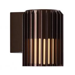 Nordlux 2118011061 Matrix E27 Wall Light in Dark Brass
