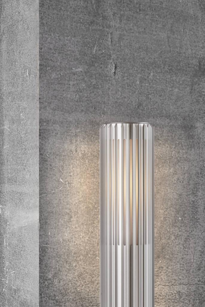 Nordlux 2118028010 Matrix 45 E27 Pillar Light in Aluminium