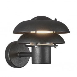 Nordlux 2118061003 Kurnos 20 E14 Outdoor Wall Light in Black