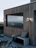 Nordlux 2118061031 Kurnos 20 E14 Outdoor Wall Light in Galvanized