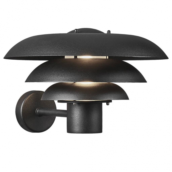 Nordlux 2118071003 Kurnos 35 E27 Outdoor Wall Light in Black