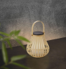 Nordlux 2118095062 Leo To-Go Solar LED in Bamboo