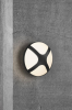 Nordlux 2118121003 Cross 20 E14 Outdoor Wall Light in Black