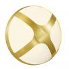 Nordlux 2118121035 Cross 20 E14 Outdoor Wall Light in Brass