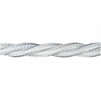Love4Lighting CABTRE31001 1m Length of White Braided Cable