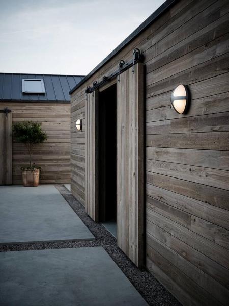Nordlux 2118131003 Cross 25 E27 Outdoor Wall Light in Black