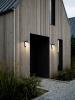 Nordlux 2010453003 Alya Solar LED Outdoor Wall Light in Black