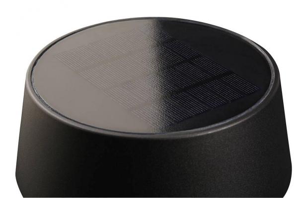 Nordlux 2118268003 Nama 50 Outdoor Solar LED Light in Black