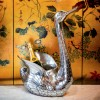 Culinary Concepts UB-SW6117-HRA Swan Bottle Holder with Raised Head