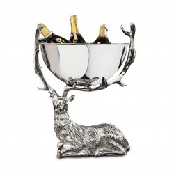Culinary Concepts SG-RS-BWL-SML Small Resting Stag Punch Bowl