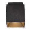 Nordlux 2110400103 Ethan 1-Spot GU10 Ceiling Light in Black