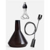 Plumen DCBTP Black Drop Cap Top Glass 001 Pendant Set