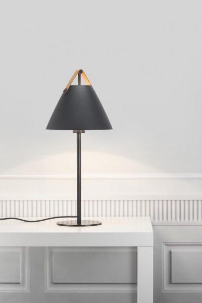 Nordlux 46205003 Strap Table Lamp in Black