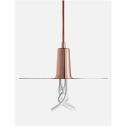 Plumen DCHLP Drop Copper Hat Lamp Shade Set With Plumen 001 Bulb