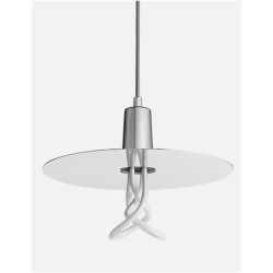 Plumen DHCLS Drop Hat Chrome Lamp Shade Set With Plumen 001 Bulb
