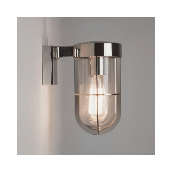 Astro Lighting 1368004 Polished Nickel Cabin Wall Light