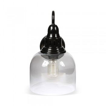 Culinary Concepts LX-2133-WM-BLK Whitechapel Wall Mounted Light in Black