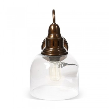 Culinary Concepts LX-2133-WM-BRCP Whitechapel Wall Mounted Light in Burnished Copper