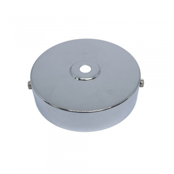 S. Lilley & Son D580C 100mm Single Hole Chrome Ceiling Plate