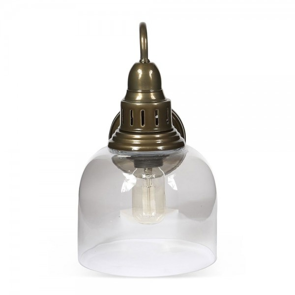 Culinary Concepts LX-2133-WM-DOLV Whitechapel Wall Mounted Light in Dark Olive