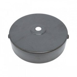 S. Lilley & Son D580BZ 100mm Single Hole Bronze Ceiling Plate